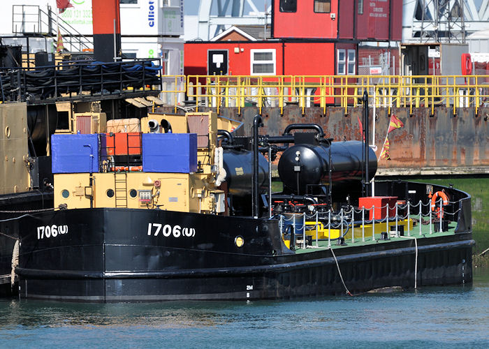 1706(U) pictured in Portsmouth Naval Base on 8th June 2013