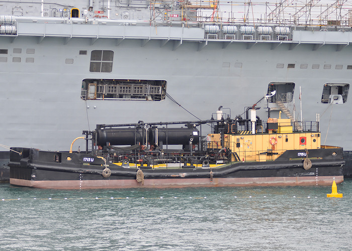 1715(U) pictured in Portsmouth Naval Base on 6th August 2011