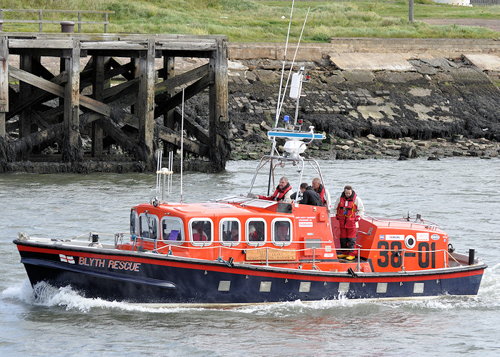 Abbie Deans Spirit of Blyth and Wansbeck pictured arriving at Blyth on 28th August 2011