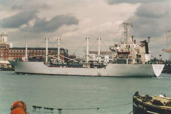 Abdelmoumen pictured arriving in Portsmouth on 6th June 2000