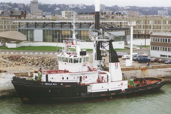 Abeille No. 31 pictured in Le Havre on 7th March 1994