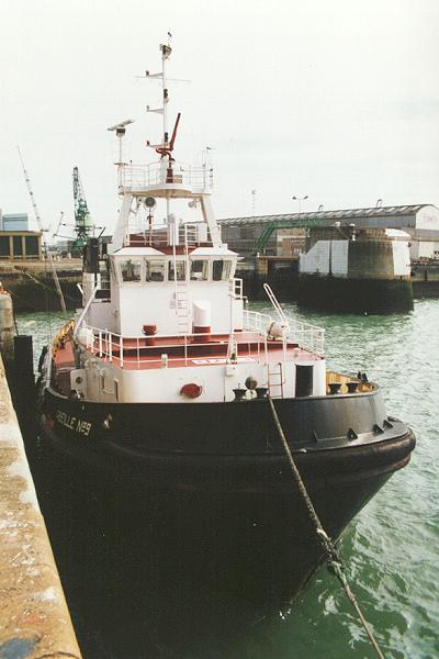 Abeille No. 9 pictured in Le Havre on 6th March 1994