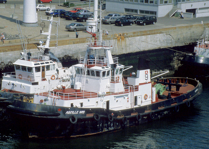 Abeille No. 9 pictured at Le Havre on 15th August 1997
