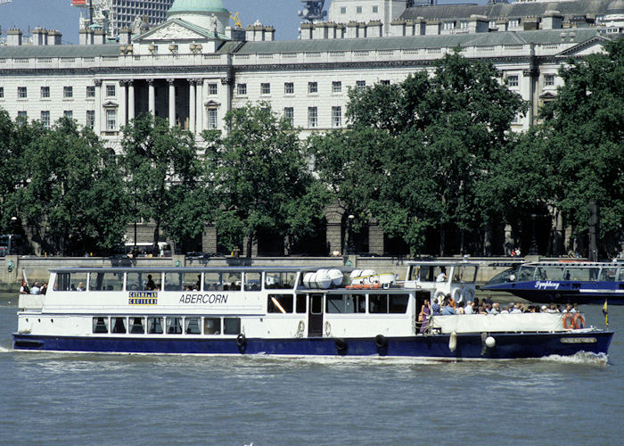 Abercorn pictured in London on 19th July 1997