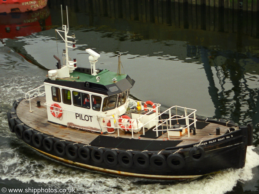 Aberdeen Pilot Boat No. 2 pictured at Aberdeen on 12th May 2003