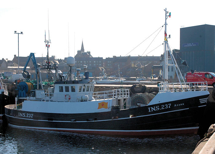 Acorn pictured at Peterhead on 28th April 2011