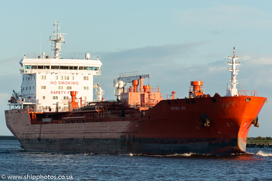 Adfines Sea pictured at North Shields on 13th November 2015