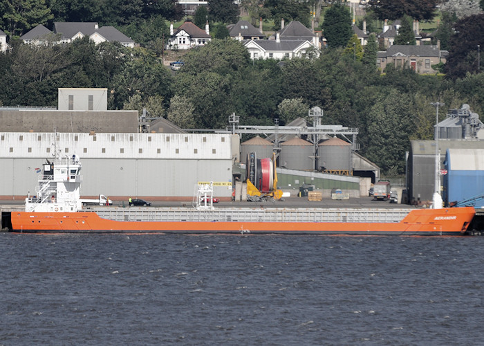 Aerandir pictured at Dundee on 17th September 2012