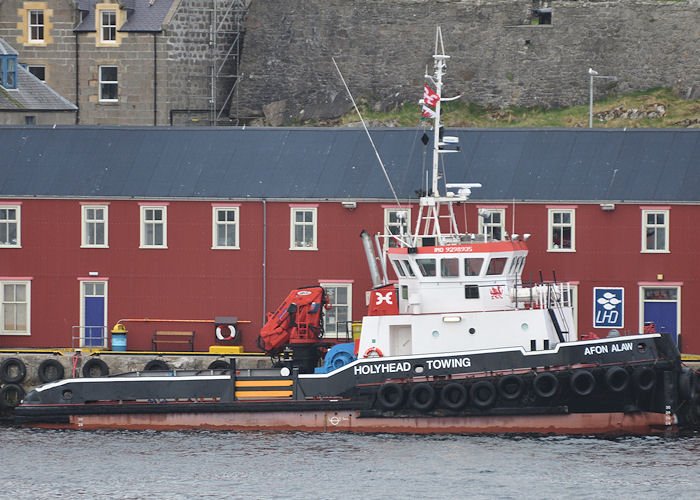 Afon Alaw pictured at Lerwick on 10th May 2013