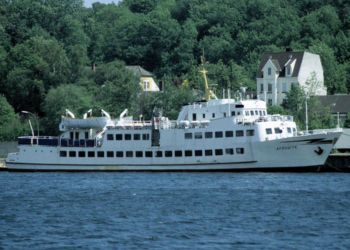 Afrodite pictured at Flensburg on 7th June 1997