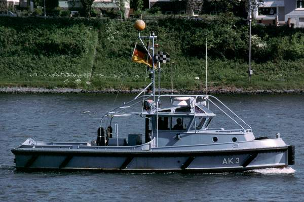AK 3 pictured on the Kiel Canal on 29th May 2001