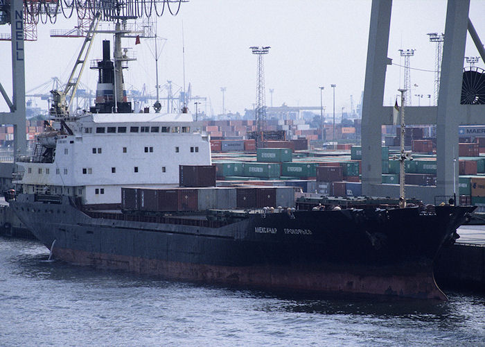 Aleksandr Prokofyev pictured in Hamburg on 21st August 1995