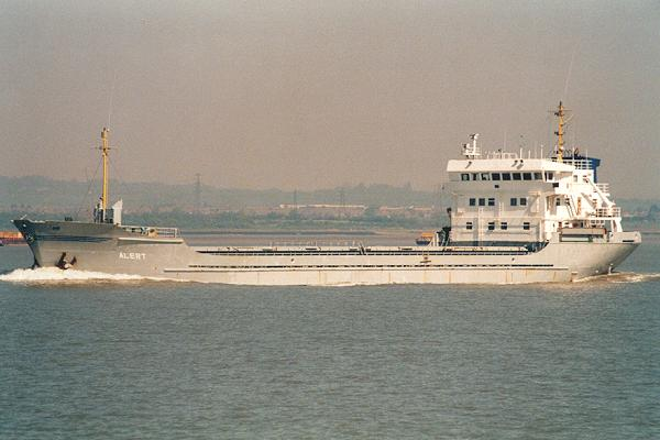 Alert pictured on the River Thames on 12th May 2001