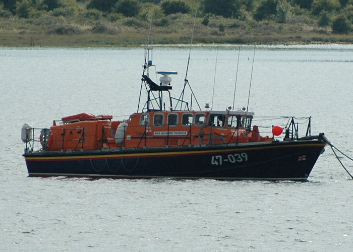 Alexander Coutanche pictured at Calshot on 14th August 2010