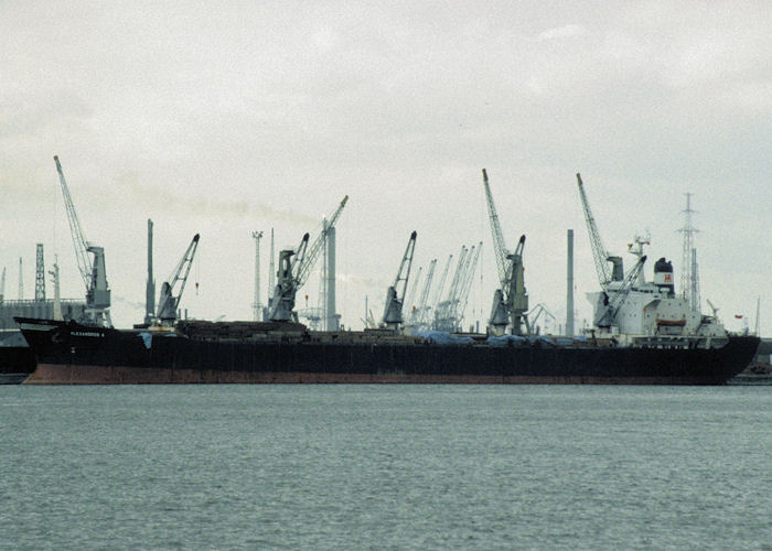 Alexandros A pictured in Antwerp on 19th April 1997