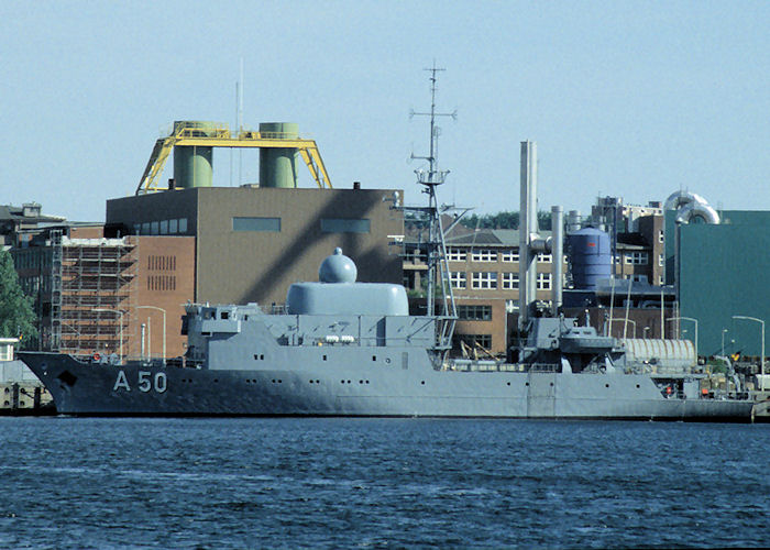 Alster pictured at Kiel on 7th June 1997