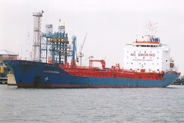 Alsterstern pictured at Fawley on 22nd September 2001