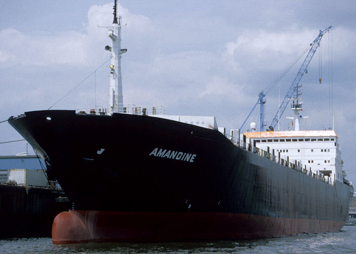Amandine pictured in Hamburg on 27th May 1998