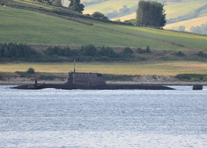 Ambush pictured on the River Clyde on 20th July 2013