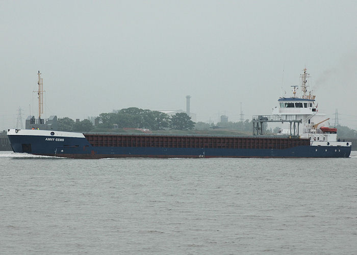 Amny Eems pictured passing Gravesend on 22nd May 2010