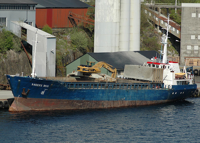 Anders Bas pictured at Haugesund on 5th May 2008