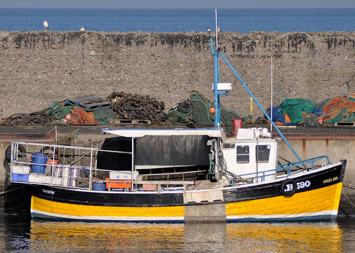 Angel Ann pictured at Port Seton on 6th November 2011