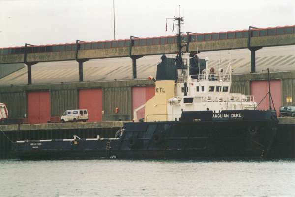 Anglian Duke pictured at Southampton on 19th January 2000
