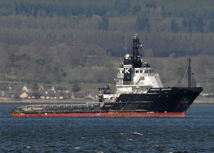 Anglian Monarch pictured in Cromarty Firth on 5th May 2013