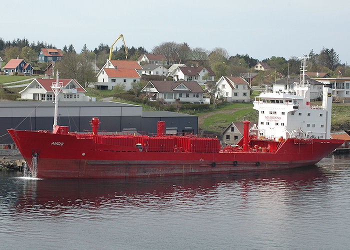 Anglo pictured at Haugesund on 5th May 2008
