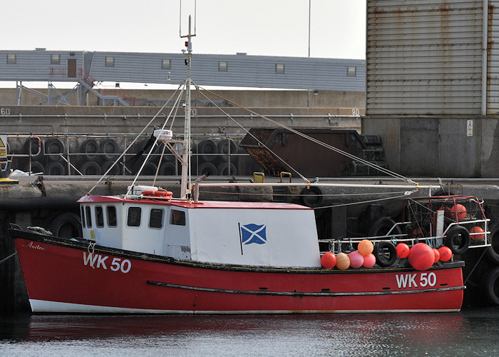 Anitra pictured at Scrabster on 12th April 2012