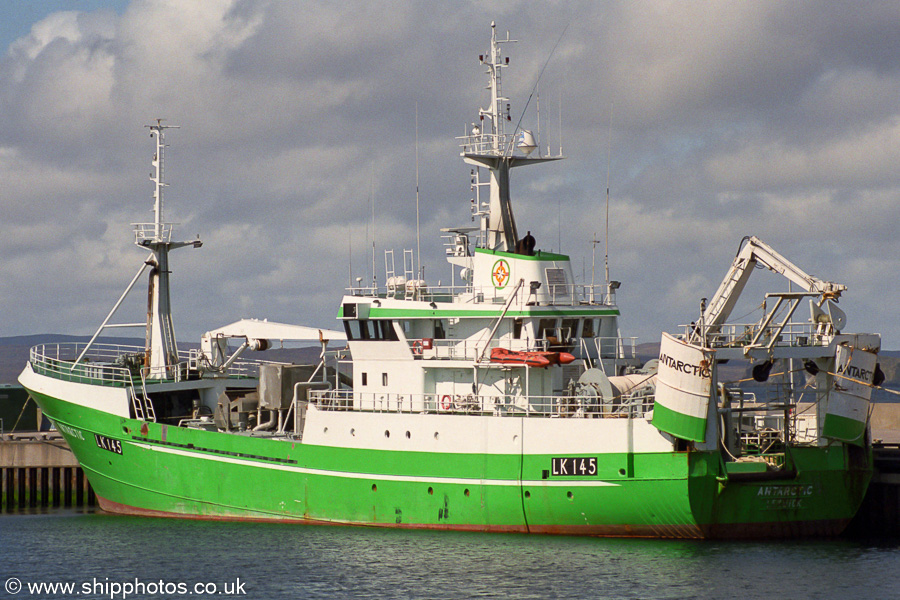 Antarctic pictured at Symbister on 11th May 2003