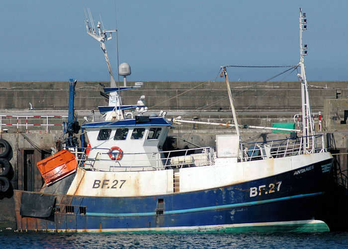 Antaries pictured at Fraserburgh on 28th April 2011