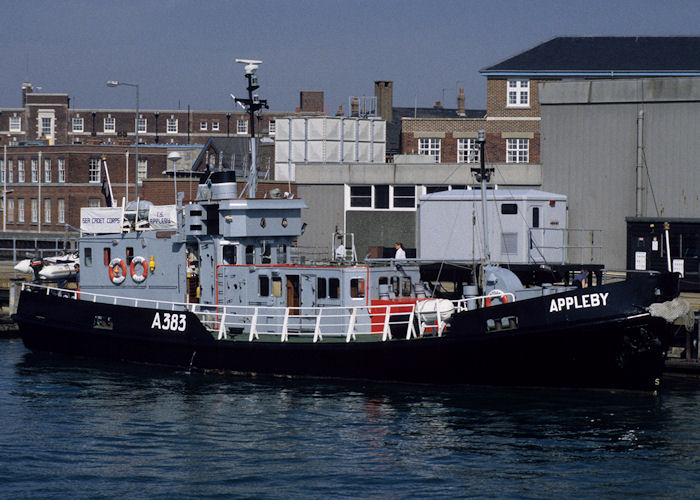 Appleby pictured at Gosport on 21st July 1996