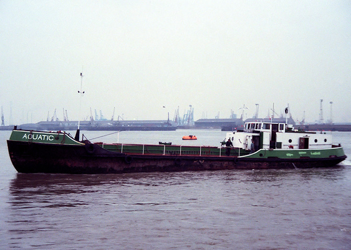 Aquatic pictured at Gravesend on 30th December 1988