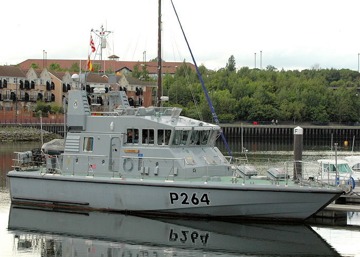 Archer pictured at Royal Quays Marina, North Shields on 6th August 2010