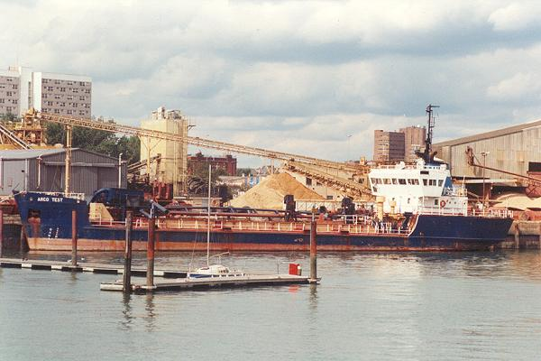 Arco Test pictured at Southampton on 5th September 1992