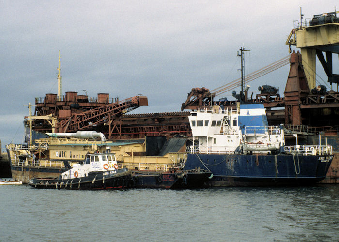 Arco Trent pictured laid up at Middlesbrough on 4th October 1997