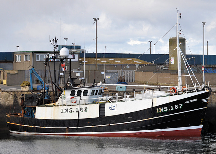 Arcturus pictured at Peterhead on 15th April 2012