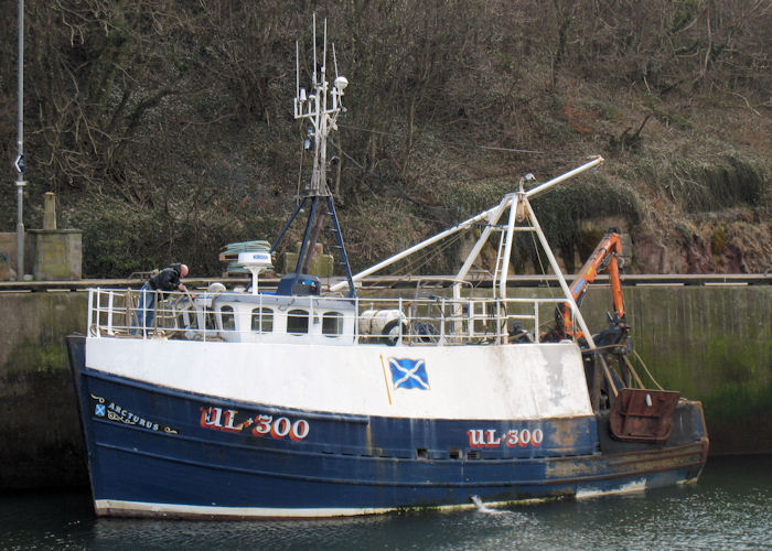 Arcturus pictured at Eyemouth on 21st March 2010
