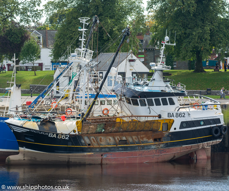 Arcturus pictured at Kirkcudbright on 2nd September 2017