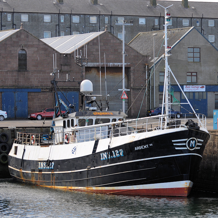Ardent II pictured at Peterhead on 15th April 2012