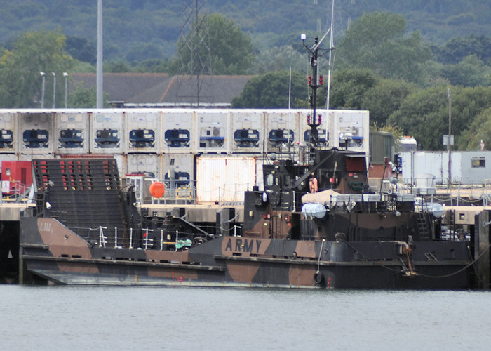 Arezzo pictured at Marchwood Military Port on 6th August 2011