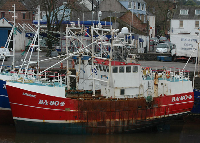 Argosy pictured at Kirkcudbright on 12th March 2011