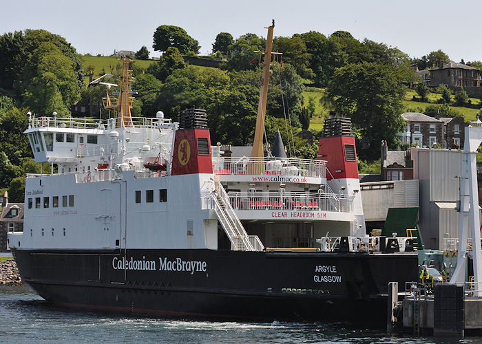 Argyle pictured at Rothesay on 7th July 2013