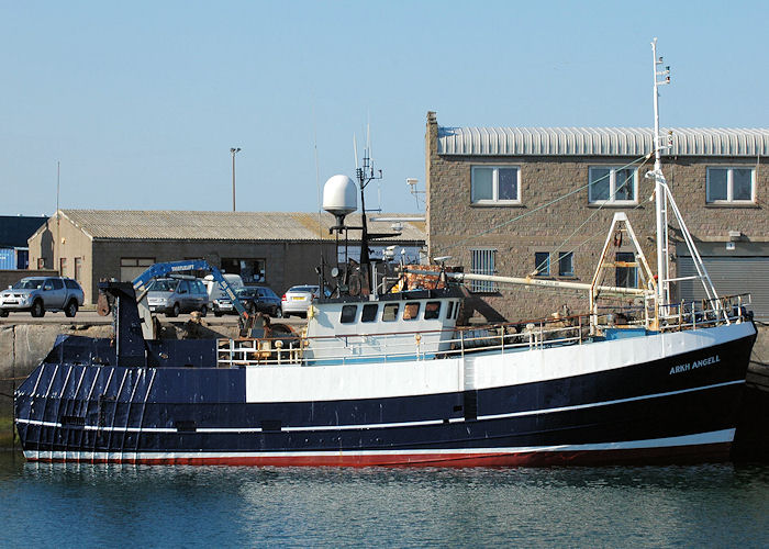 Arkh-Angell pictured at Peterhead on 28th April 2011