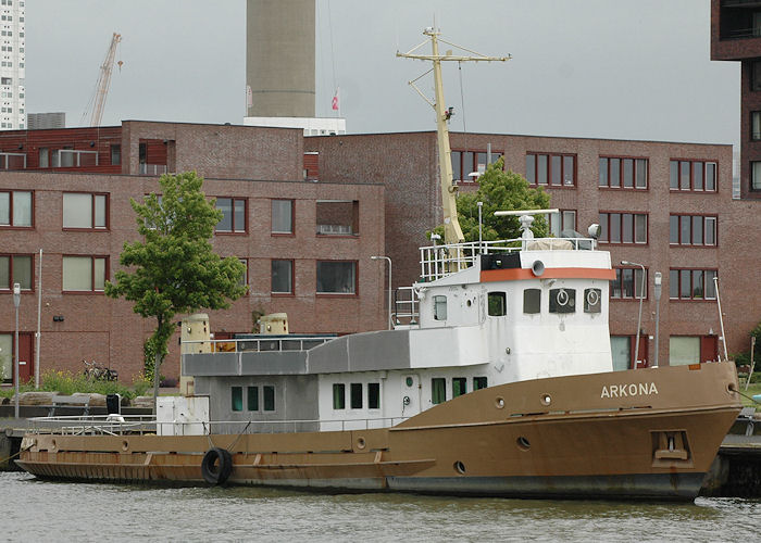 Arkona pictured in St. Jobshaven, Rotterdam on 20th June 2010