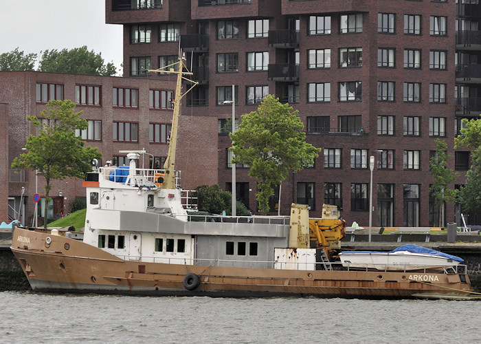 Arkona pictured in St. Jobshaven, Rotterdam on 24th June 2012