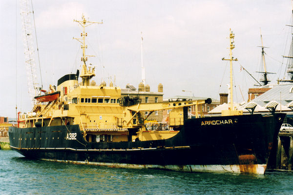 Arrochar pictured in Portsmouth on 25th May 1999
