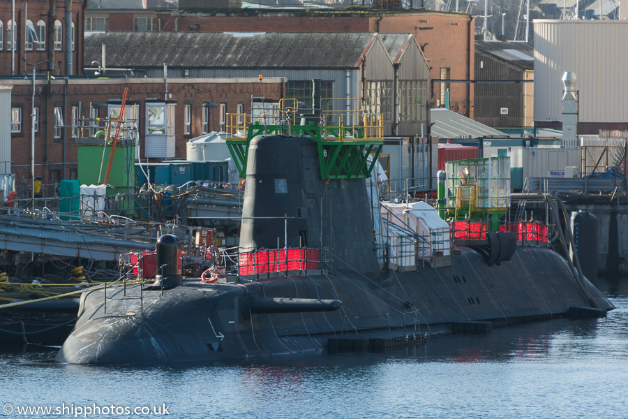 Artful pictured fitting out at Barrow-in-Furness on 8th March 2015