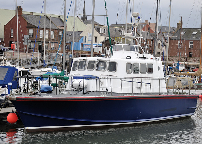Arun Adventurer pictured at Arbroath on 18th April 2012